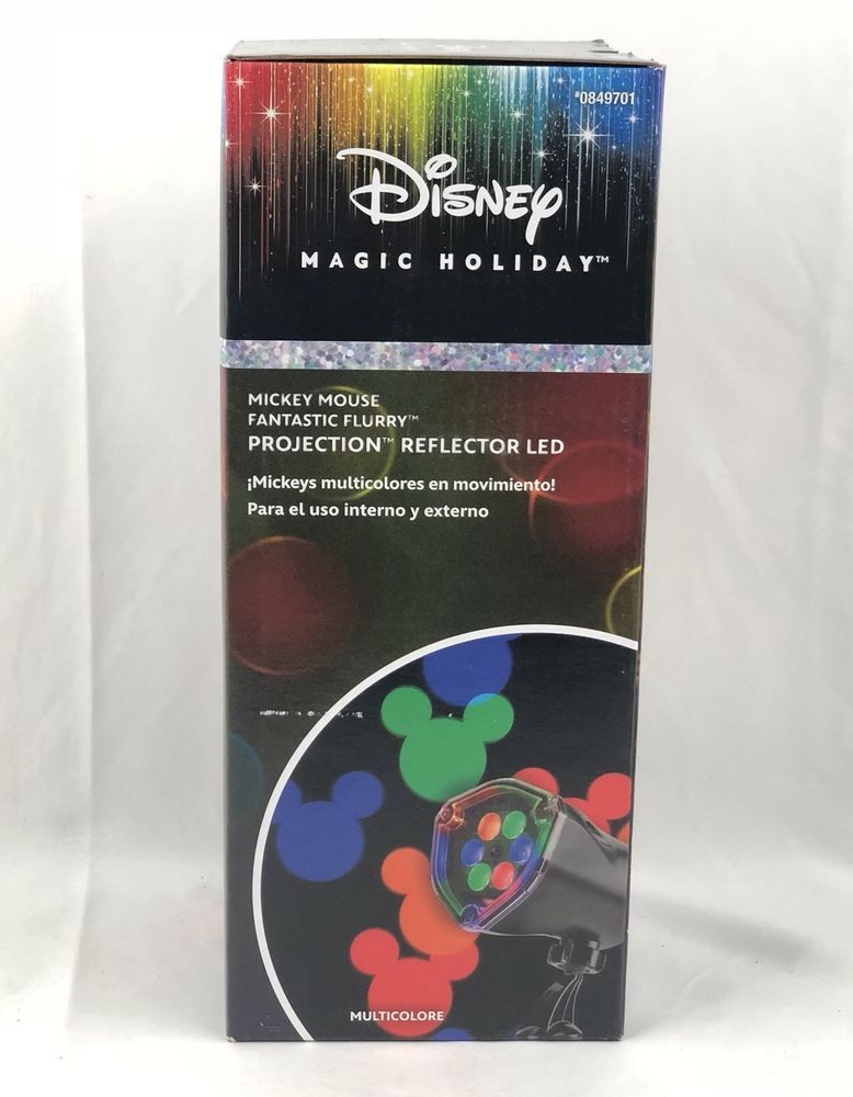 Disney Mickey Mouse Fantastic Flurry Led Projection Spotlight Outdoor  Projector #Disney - Disney Mickey Mouse Fantastic Flurry Led Projection Spotlight