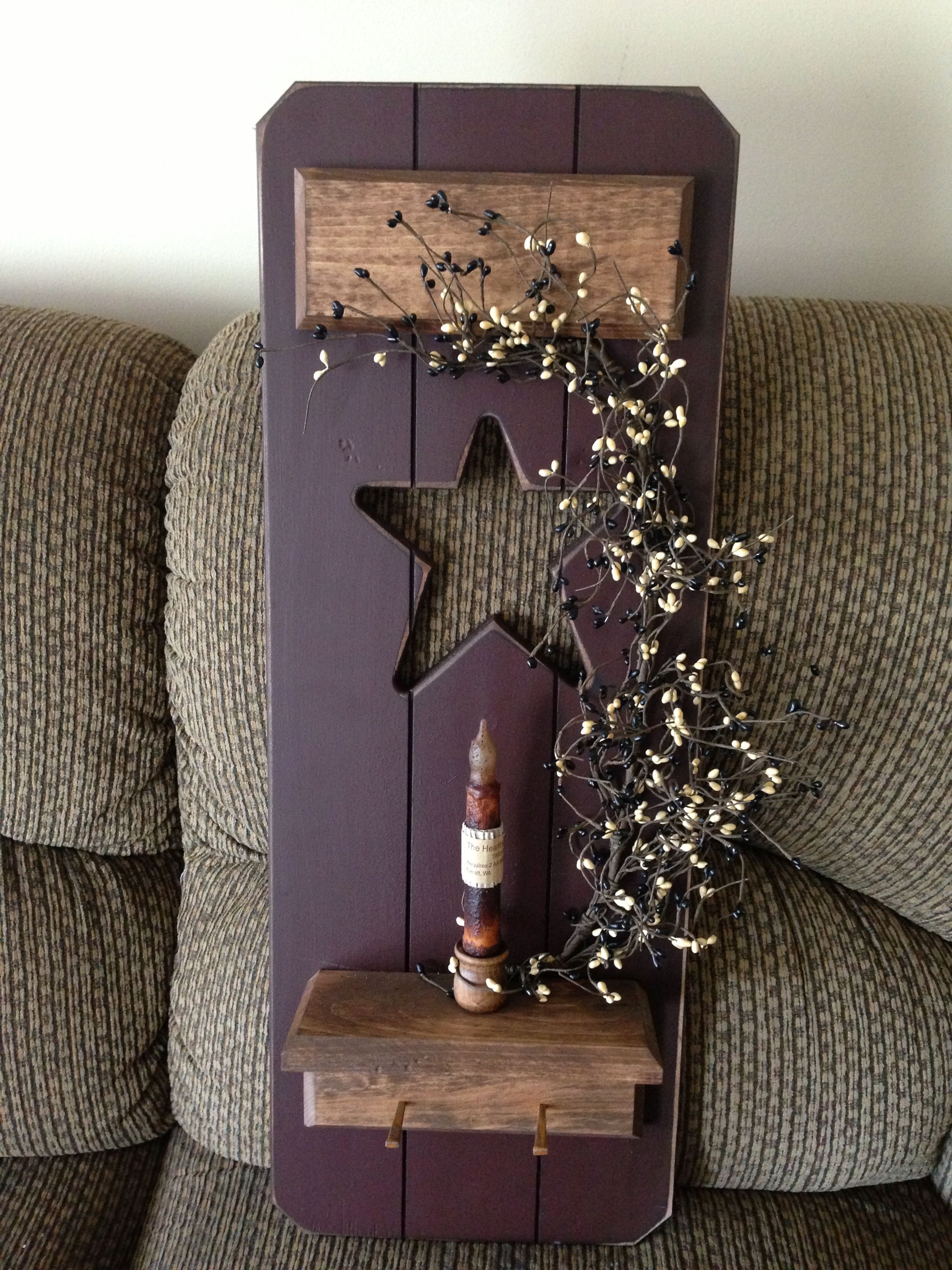 Rustic stars for crafts - Find This Pin And More On Diy Primitive Crafts