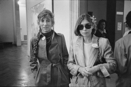 L R Renata Adler And Joan Didion In An Archival Photograph From May 17 1978 Flickr Creative Commons Culture War Joan Photographer