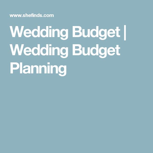 Wedding Budget | Wedding Budget Planning