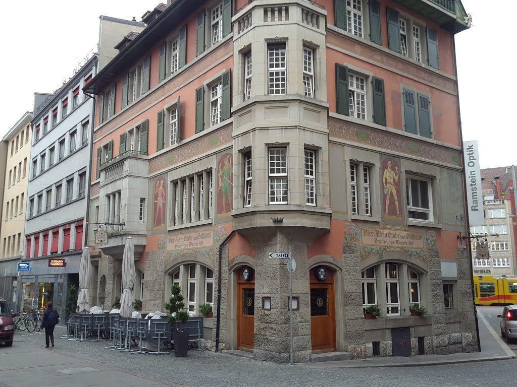 Restaurant Gifthüttli Schneidergasse Sattelgasse Basel Basilea