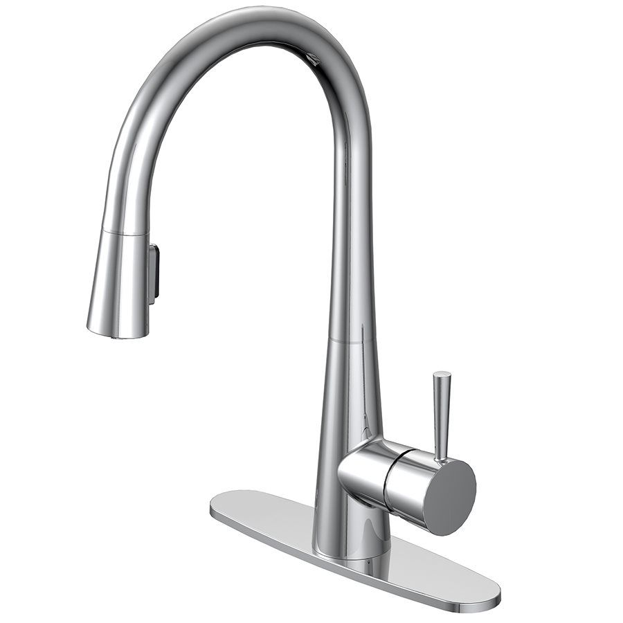 Aquasource 1 Handle Pull Down Kitchen Faucet Moen Kitchen Faucet