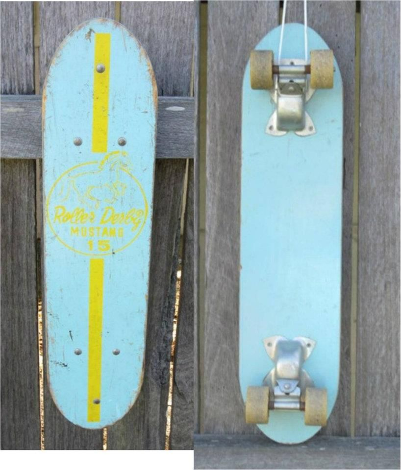 Mother threw this in the trash. I snagged it as it was my dads 1950's skateboard. I decided to refurbish it.