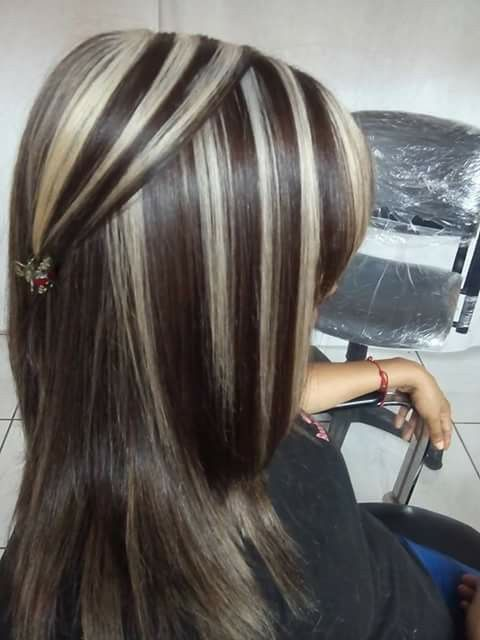 Pin By Olga Nuez On Color Pinterest Dramatic Highlights Salons