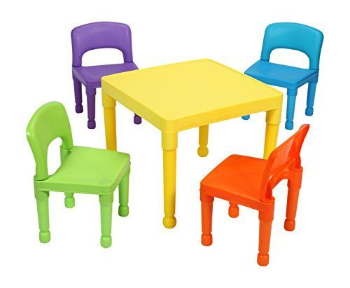 Liberty House Toys Enfant Ensemble Table Et 4 Chaises En Plastique Multicolore Http Www Amazon Fr Dp B01c Table Et Chaise Enfant Chaise Enfant Multicolore