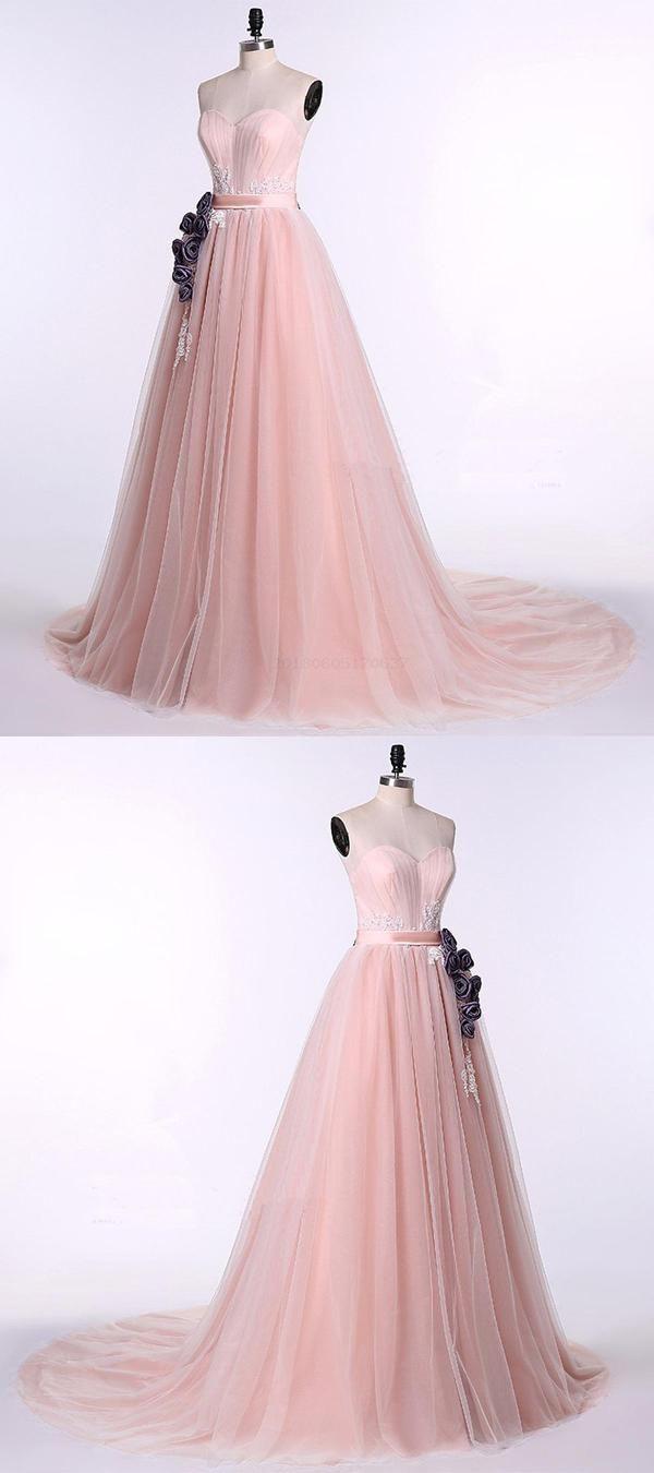 Unique pink qprom prom dresses pinterest senior
