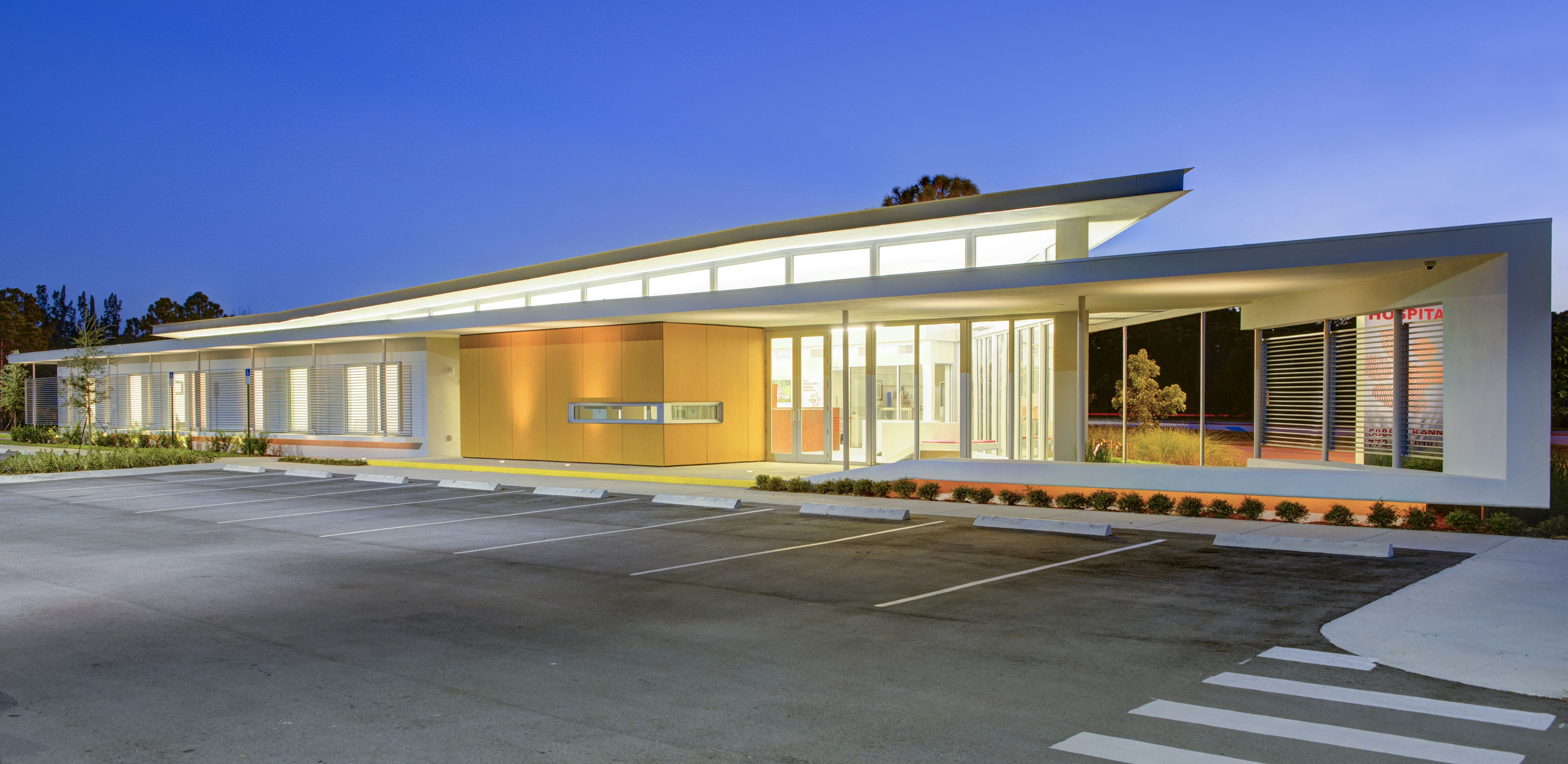 Animal Hospital Florida Clint Larkan Architect Veterinaria Hospital