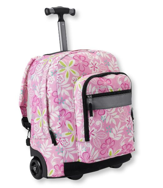 book bags for girls with wheels