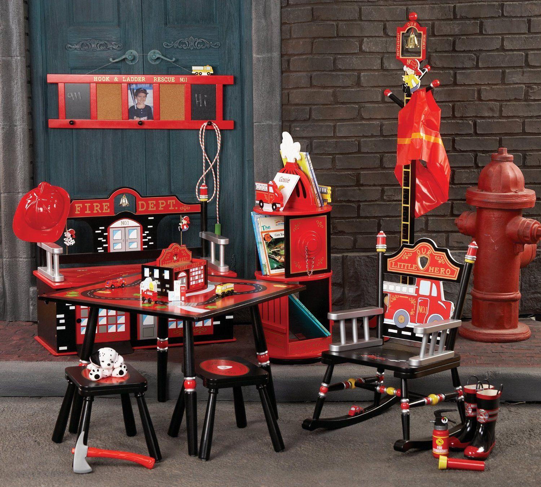 Design A Kids Fire Truck Bedroom