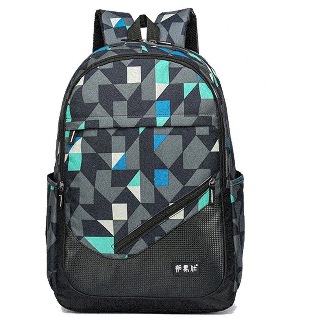 dce6716e6 Maod juveniles Backpack Impermeables Mochila de Ordenador Impresión ...