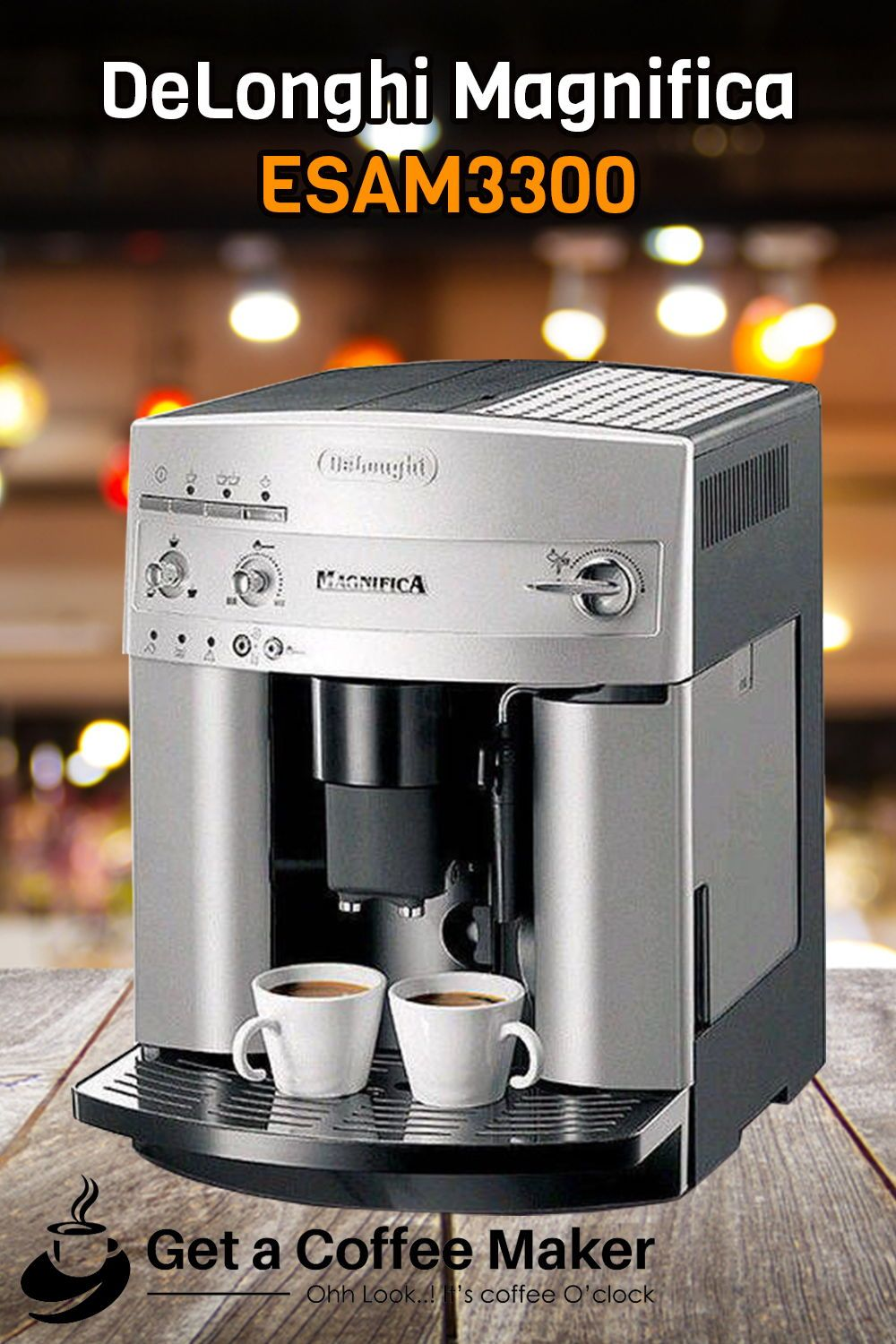 DeLonghi Magnifica ESAM3300 Review A Symbol of