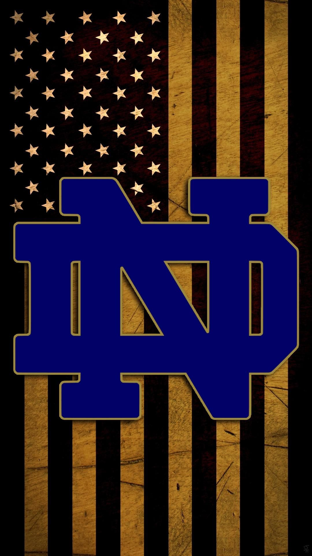 Notre Dame Fighting Irish With Images Notre Dame Wallpaper