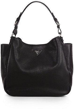 0a53d0ad82b4 Prada Daino Large Hobo Bag Prada Messenger Bag, Prada Tote Bag, Crossbody  Bag,