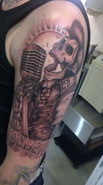 Michael poulsen tattoo bedeutung