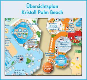 Ubersichtsplan Palm Beach Palm