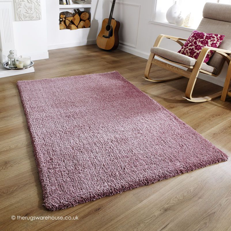 Softness Mauve Rug A Plain Shaggy Made Using Plush Microfiber Polyester Yarn Http