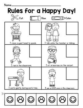 Pin On Worksheets Behavior worksheets for kindergarten
