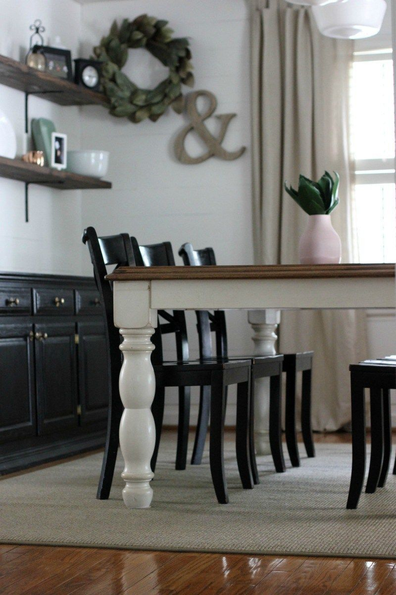 Our New Dining Room Rug Showit Blog Dining Room Rug Dining Room Rug Placement Area Rug Dining Room