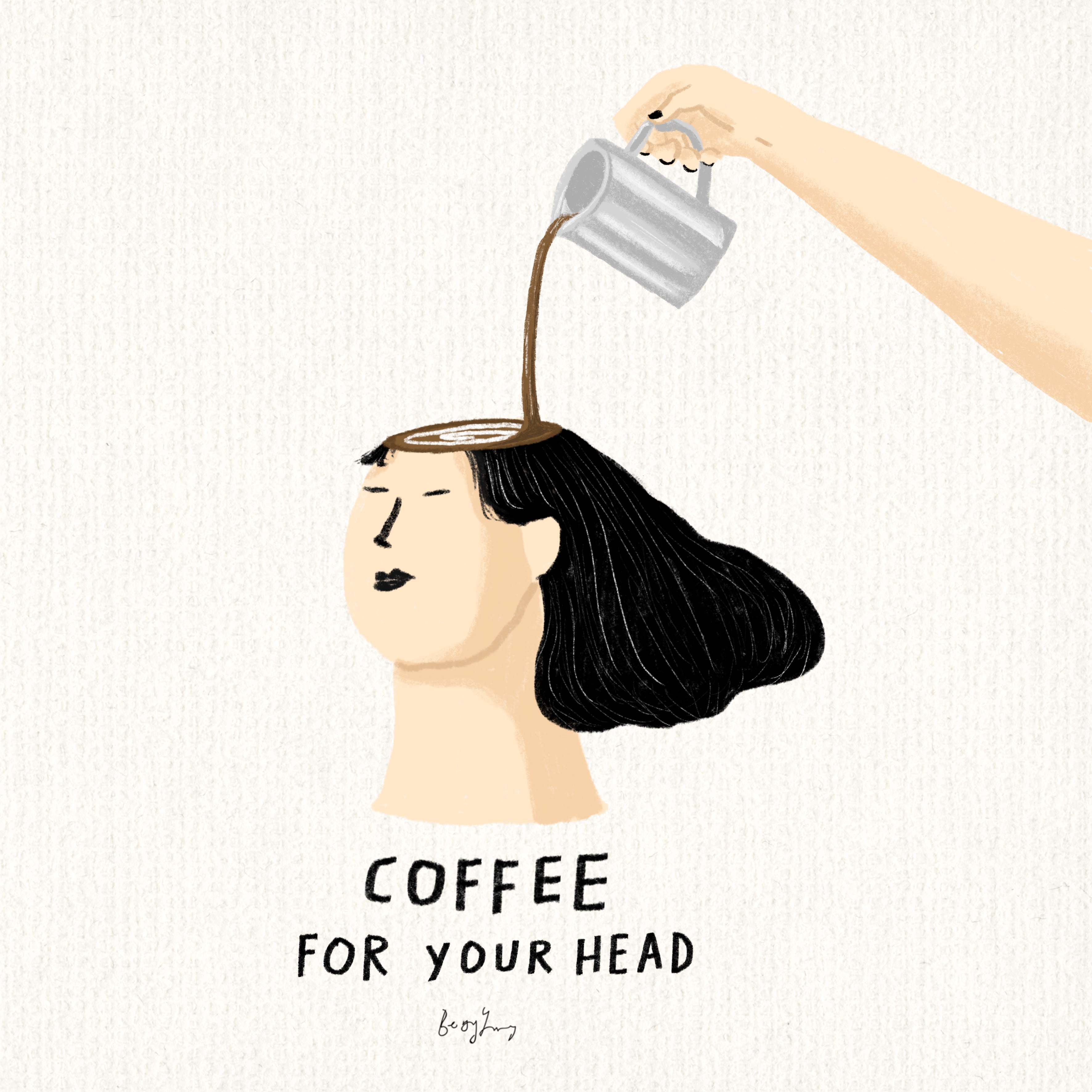 I'll make a cup of coffee for your head in 2020 Coffee