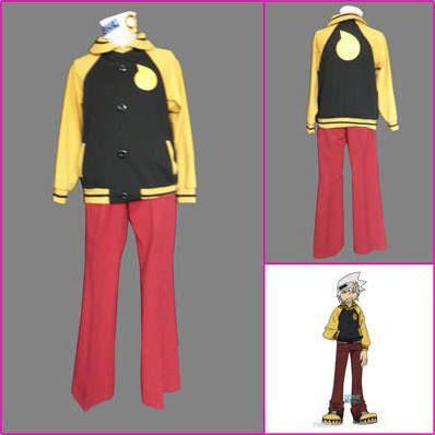 Soul Eater Maka Albarn Anime Cosplay Woman Costume Outfits Cloak Dress Shirt Tie