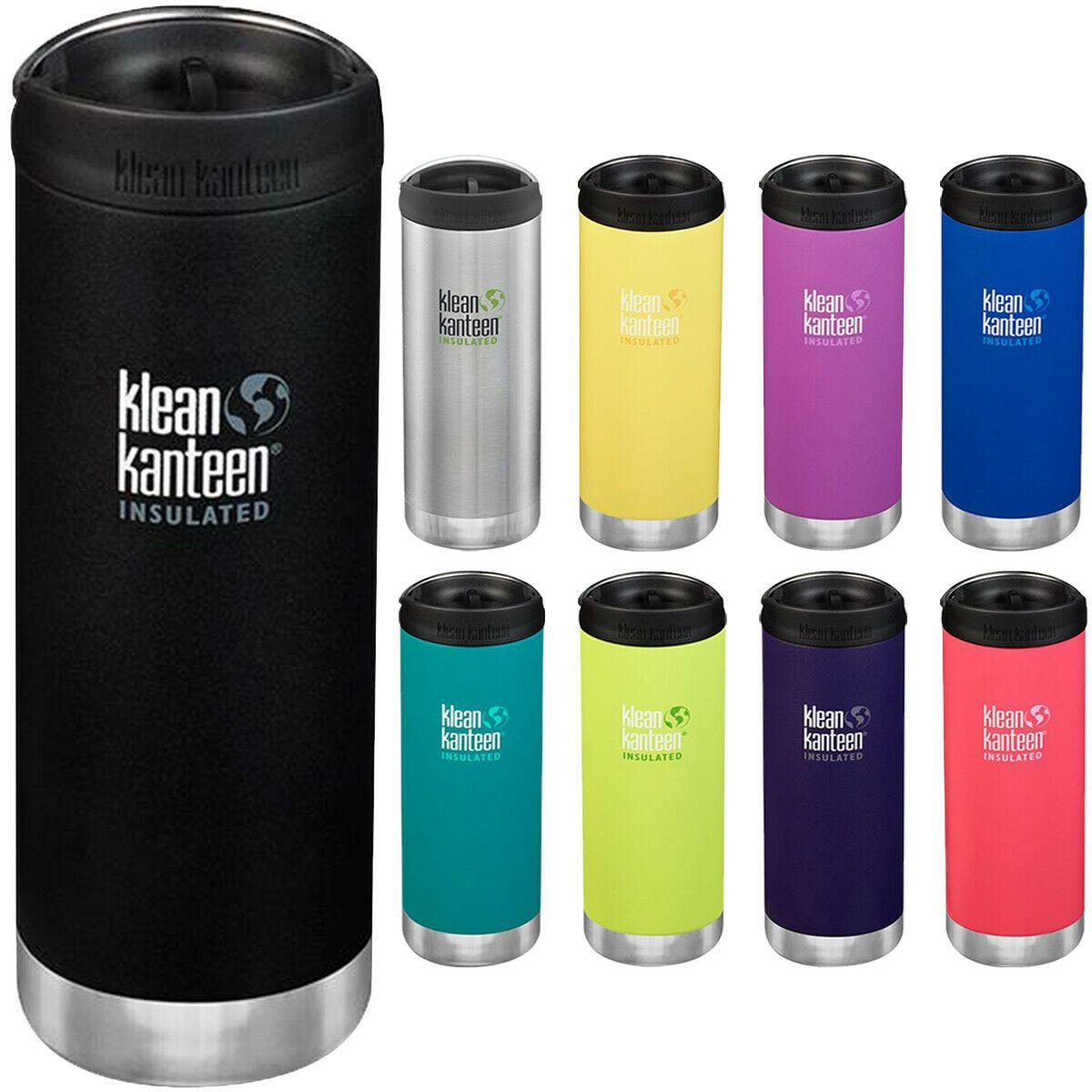 Klean Kanteen 16 oz Best Vacuum Insulated  Bottle Hot/& Cold