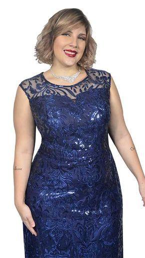 8723a477c017 Roupas para Gordinhas, Moda Plus Size Online Casual e roupas de festa,  vestido para gordinhas, peças com muito estilo e bom gosto que vão do 46 ao  56.