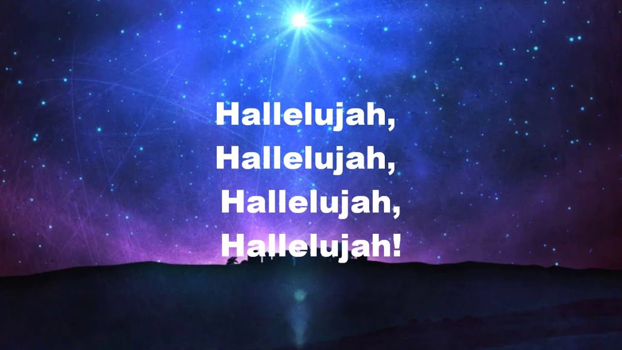 Hallelujah Christmas.Hallelujah Christmas Lyrics The Thomas Sisters