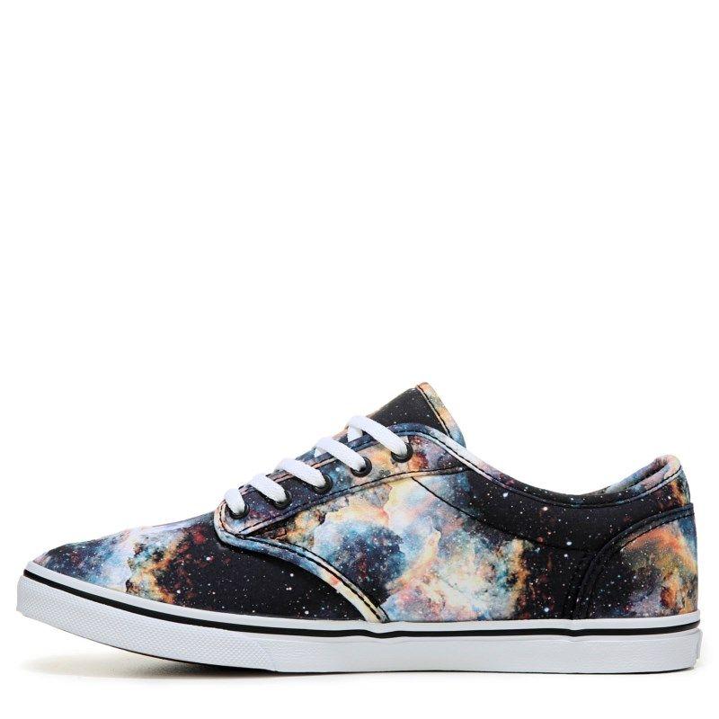 9236c26955eb1c Vans Women s Atwood Low Sneakers (Black Galaxy)