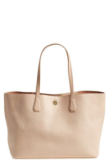 b870cea4cd77 Tory Burch  Perry  Leather Tote