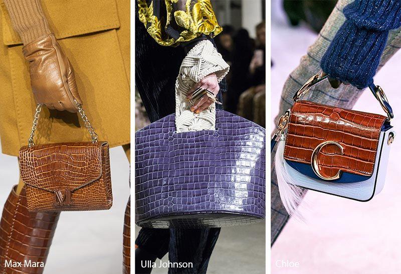 Bags 2020 Trends.Fall Winter 2019 2020 Handbag Trends Fall Handbags Fashion