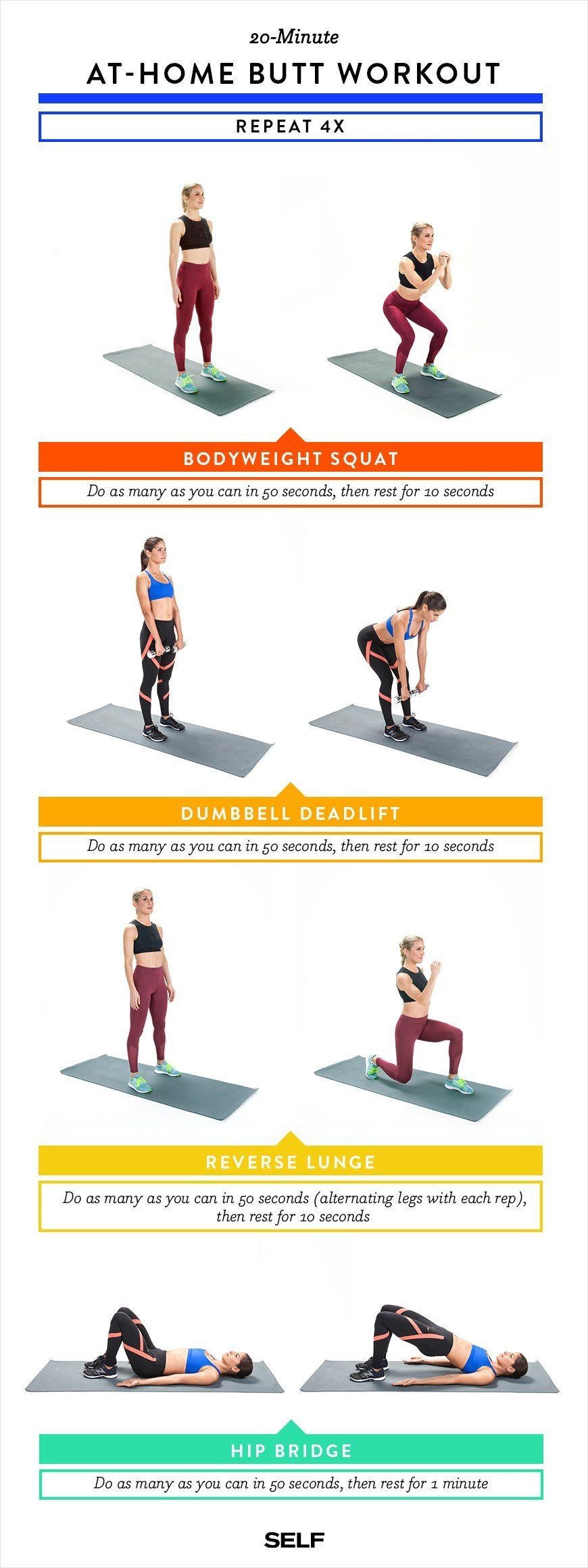 d364d3d57b1b Fitness trainer Emily Skye shares a killer 20-minute butt workout routine  that you can do anywhere