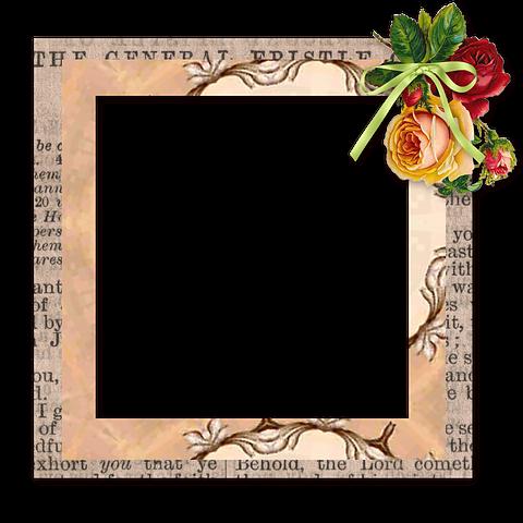 Scrapbook, Element, Frame, Tag