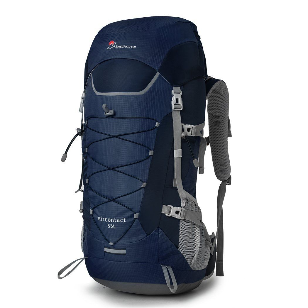 Backpacks Internal Frame Hiking Camping Bags Travel Outdoor 55L Waterresistant