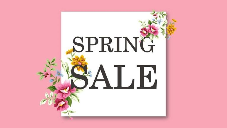 Spring Powerpoint Template For Digital Signage Screensavers