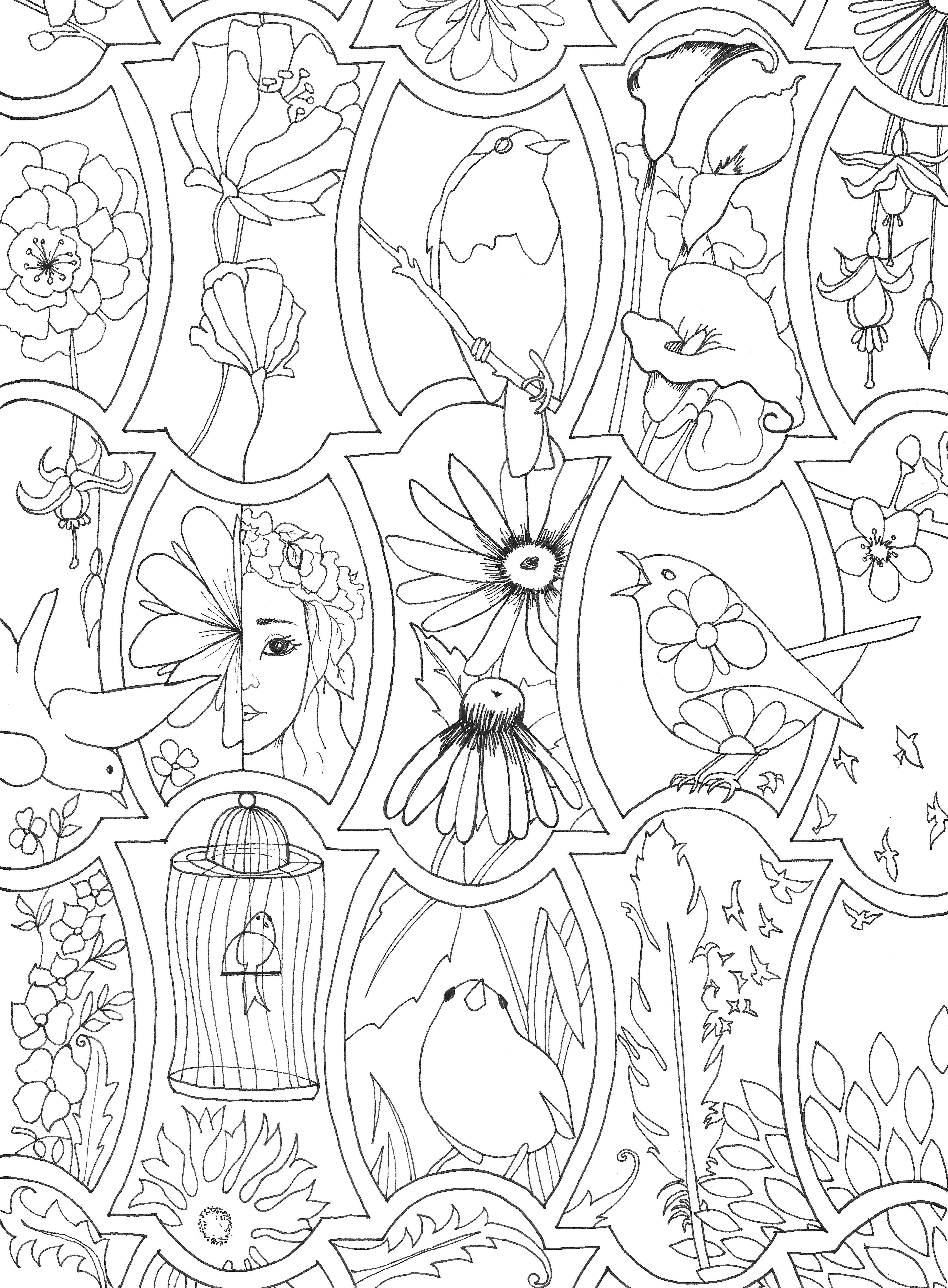 Magnificent April Coloring Pages Printable Photos - Entry Level ...