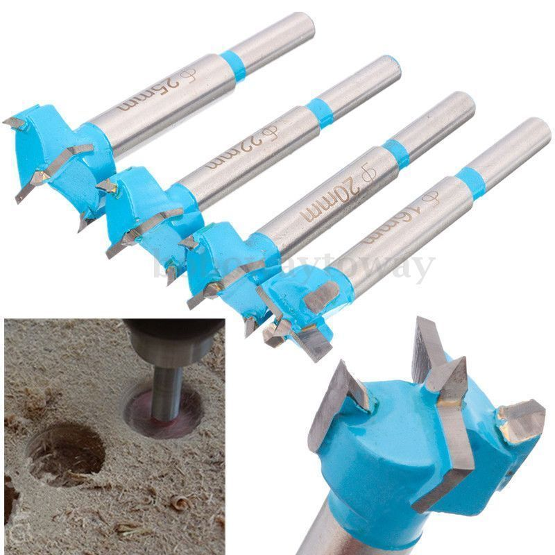 16/20/25mm Professional Forstner Drill Bit Woodworking Hole Saw Wood Cutter NEW