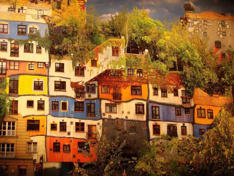 casa hundertwasser viena austria imagenes de viaje