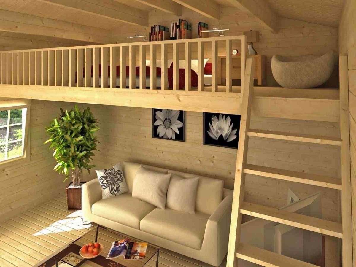 Schlafboden Für Gartenhaus Grundfläche 8 85 M Inkl