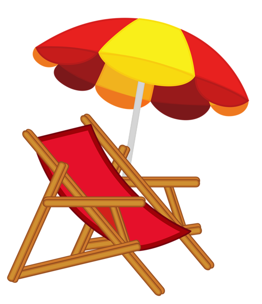 summer craft ideas pinterest beach clip art and scrapbooking rh pinterest com beach chairs clipart images beach chair umbrella clipart