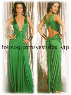 Imagenes de vestidos de fiesta de las oreiro
