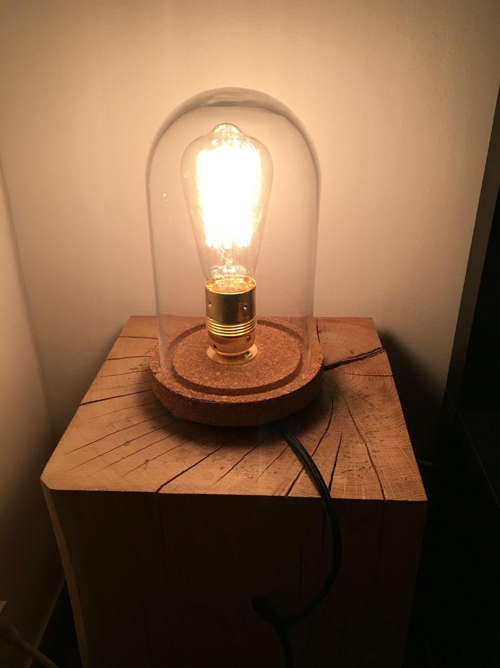 Lampe Sous Cloche lampe sous cloche | lampy | pinterest