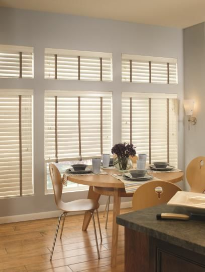 Neutral Wood Blinds
