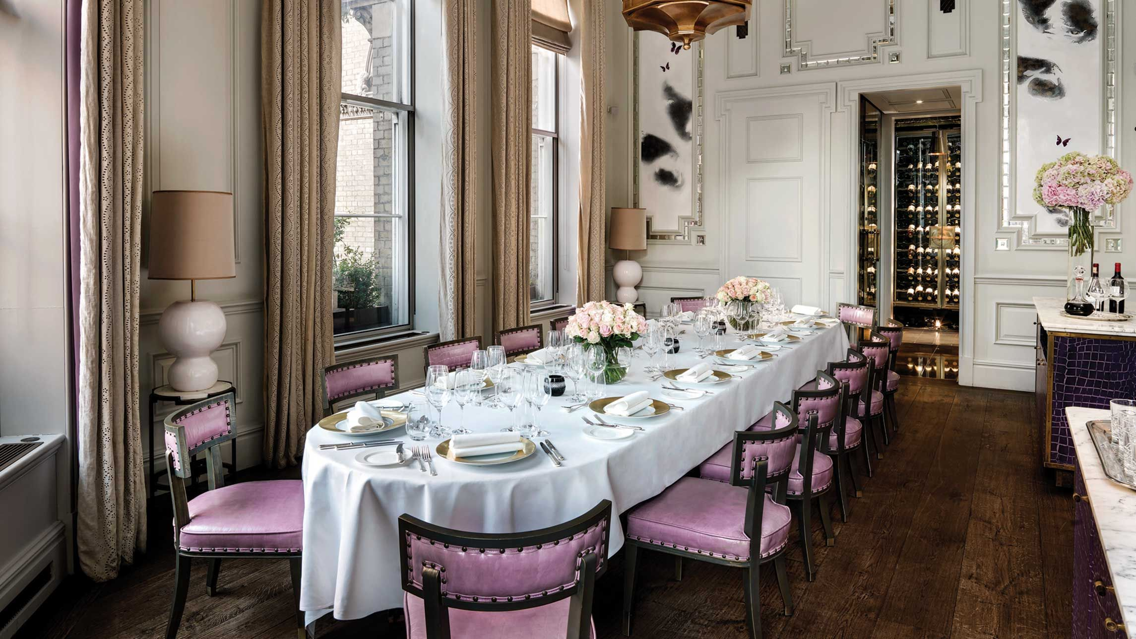 Langham Dining Room From Intimate Gatherings To Extravagant Banquets The Langham
