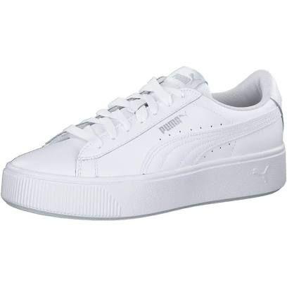 0d3f9e084 Puma Women's Vikky Stacked L Low-Top Sneakers, White (Puma White ...