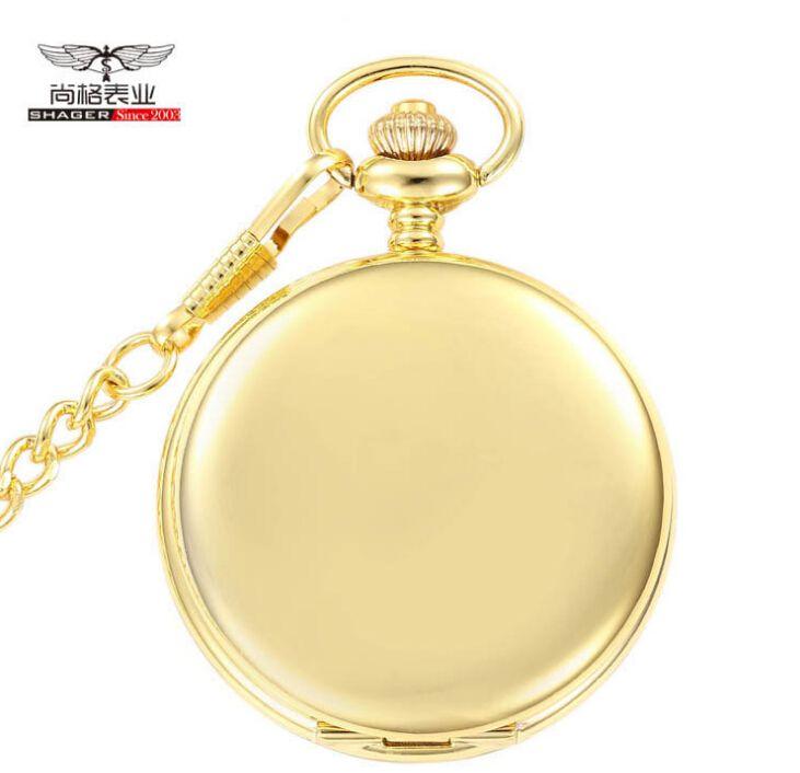 $4.59 (Buy here: https://alitems.com/g/1e8d114494ebda23ff8b16525dc3e8/?i=5&ulp=https%3A%2F%2Fwww.aliexpress.com%2Fitem%2FNew-Gold-Mirror-Case-Mens-Analog-Quartz-Pocket-Watch-with-Chain%2F32557550877.html ) New Gold Mirror Case Mens Analog Quartz Pocket Watch with Chain for just $4.59