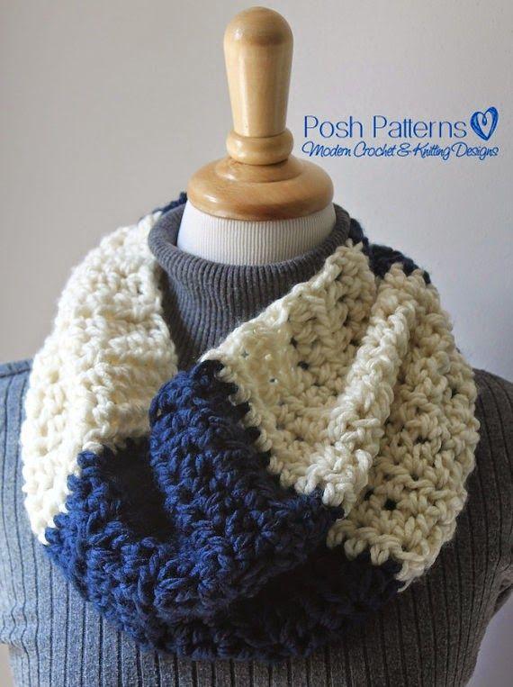 Free Crochet Pattern Easy And Elegant Crochet Cowl Infinity Scarf
