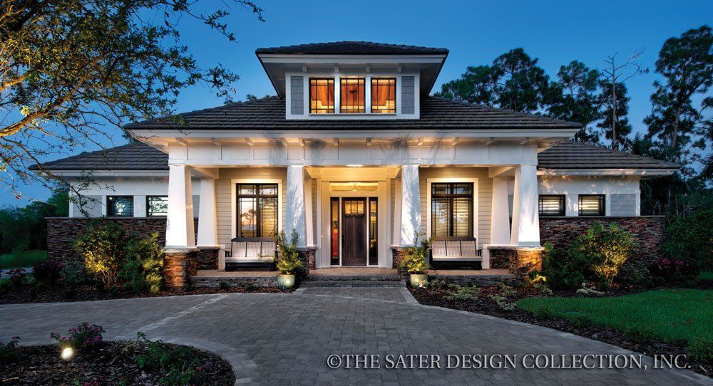Stillwater House Plan | Luxury houses, Contemporary style and House