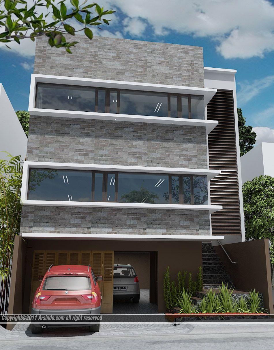 Fasad Ruko Modern : fasad, modern, Desain, Minimalis, Arsindo.Com, Ruko,, Desain,
