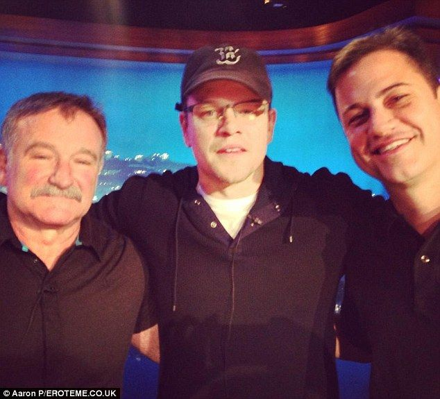 Ben Affleck And Matt Damon Pay Tribute To Robin Williams Robin Williams Friends Robin Williams Robin Williams Death