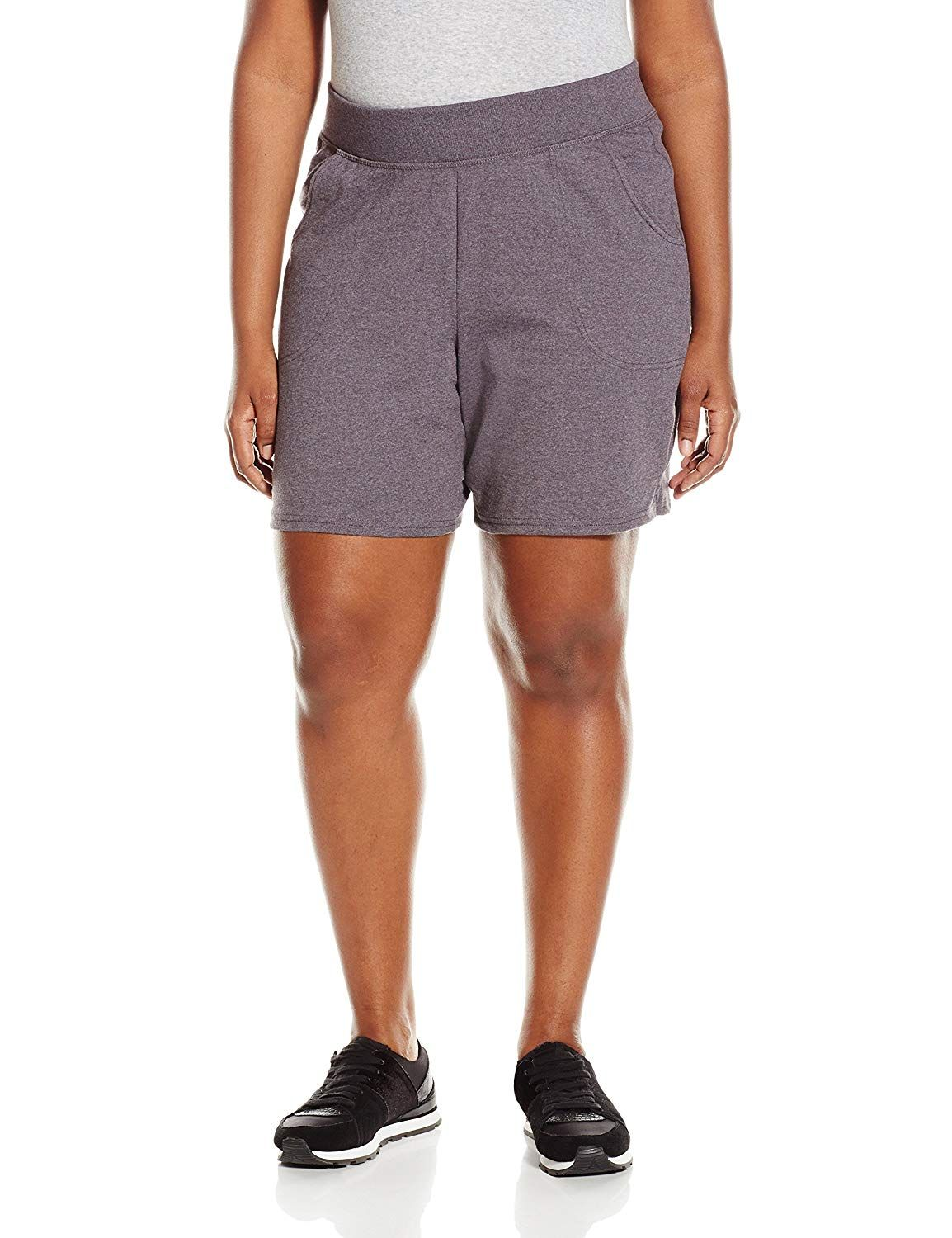 c70eb59c3fe33 Women s Active Shorts - Just My Size Women s Plus Cotton Jersey Pull-On  Shorts